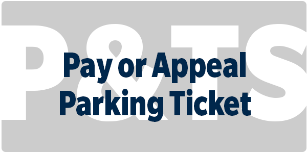 Pay or appeal parking ticket