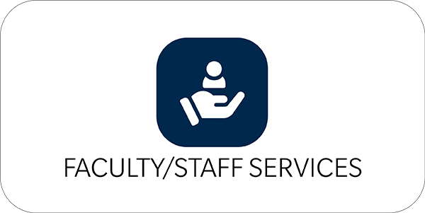 Faculty, staff services icon